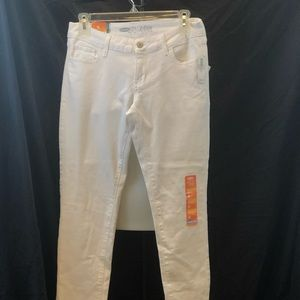 white jeans old navy